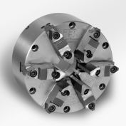 "6 Jaw Self-Centering Universal Steel Body SETRITE Chuck - 12"" Dia. - Pratt Burnerd 1226300"