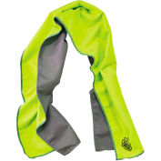 Chill-Its® 6602MF Evaporative Microfiber Cooling Towel, Lime