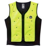 Ergodyne® 12674 Chill-Its® 6685 Dry Evaporative Cooling Vest, Lime, L