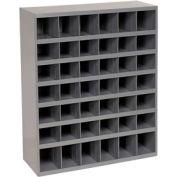 Durham Steel Storage Parts Bin Cabinet 360-95 Open Front - 42 Compartments