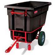 Rubbermaid® 1306-41 1/2 Cubic Yard Towable Plastic Tilt Truck