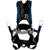 3M™ DBI-SALA® ExoFit™ Plus Comfort-Style Tower Climbing Harness, 1140091, S