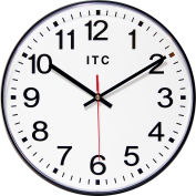 "Infinity Instruments 12"" Carnegie Wall Clock"