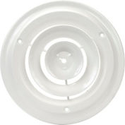 Round Ceiling Diffuser 8-1/2 Inch Diameter, PKQ QTY 10 - Pkg Qty 10