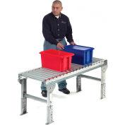 "Omni Metalcraft 1.9"" Dia. Steel Roller Conveyor Straight Section GPHS1.9X16-24-9-5-LL"