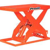 PrestoLifts™ HD Scissor Lift Table XL36-60F 48x24 Foot Operated 6000 Lb.