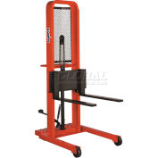 PrestoLifts™ Hydraulic Stacker Lift Truck M278 1000 Lb. with Adj. Forks