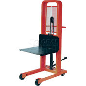 PrestoLifts™ Hydraulic Stacker Lift Truck M166 1000 Lb. with Platform