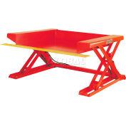 PrestoLifts™ Floor Level Powered Lift Table XZ50-20F Foot Control 2000 Lb