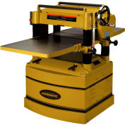"Powermatic 1791316 Model 209HH-3 5HP 3-Phase 230V 20"" Planer W/ Byrd Shelix Helical Cutterhead"