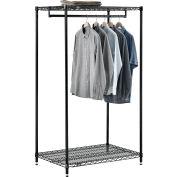"Free Standing Clothes Rack - 2 Shelf - 36""W x 24""D x 63""H"