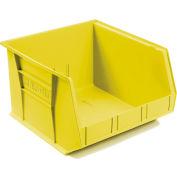 "Akro-Mils AkroBin® Plastic Stacking Bin 30270 - 16-1/2""W x 18""D x 11""H, Yellow - Pkg Qty 3"