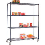 Nexelon™ Wire Shelf Truck 48x24x92 1200 Lb. Capacity