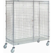 Nexel® Wire Security Storage Truck 48 x 18 x 69 1200 Lb. Capacity