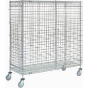 Nexel® Wire Security Storage Truck 36 x 18 x 69 1200 Lb. Capacity