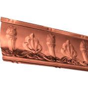 "Great Lakes Tin 48"" Superior Tin Crown Molding in Vintage Bronze - 194-09"