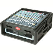 SKB Cases 10 x 2 Roto Rack/Mixer Console 1SKB-R102 Black, Keyed Lock, Water Resistant