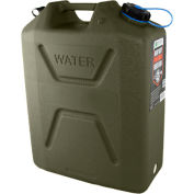 Wavian Water Can, 3214 Olive Drab, 5 Gallon with Spout