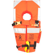 Stearns® I160 Ocean Mate™ Life Vest, USCG Type I/SOLAS, Orange, Nylon, Adult