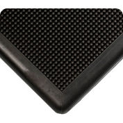 "Wearwell® Sanitizing Footbath Mat 1/2"" Thick 2' x 3' Black"