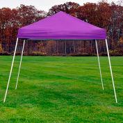 ShelterLogic 22702 Pop-up Canopy-Sports Series, Slant Leg, 10 x 10, Purple