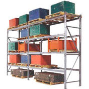"Pallet Rack Upright Frame - 4"" Channel 36""D x 192""H"