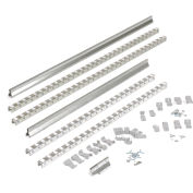 Global Industrial™ Gravity Carton Flow Roller Track Kit 96""