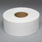 "2-Ply Jumbo Bath Tissue 9"" Dia., White 1000 Ft./Roll, 12 Rolls/Case - BWK6100"