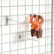 "4"" Grid Wall Peg Hook - Pkg Qty 12"