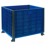 """Global Industrial™ Easy Assembly Solid Wall Bulk Container 39-1/4""""L x 31-1/2""""W x 29""""H Overall"""