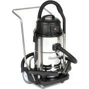 Powr-Flite® Stainless Steel Wet/Dry Vacuum, 15 Gallon Cap.