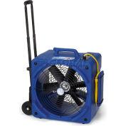 Powr-Flite® Downdraft Floor Dryer With Handle & Wheels, 2 Speed, 1/4 HP, 3500 CFM