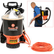 Hoover® HEPA Shoulder Vacuum, 1-1/2 Gallon Cap.