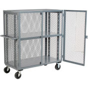 Security Clearview Truck with Adjustable Shelf 71 x 38 2500 Lb. Cap.