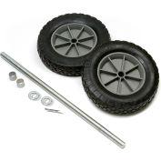 "Global Industrial™ Universal 8"" Mold-On Rubber Hand Truck Wheel Kit"