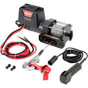Warn® 2000 DC Powered 2000 Lb. Cap. 12V Trailer Loading Utility Winch 92000