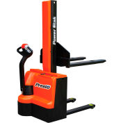 "PrestoLifts™ PowerStak™ Fully Powered Stacker PPS2200-62NFO-21 2200 Lb. 62"" Lift"