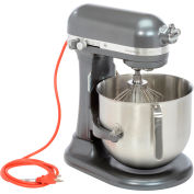KitchenAid® KSM8990DP Commercial 8 Qt. Bowl Mixer, Dark Pewter