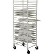 Nexel® PR2126 Bakers Sheet Pan Rack, Economy, Knock Down, End Loading, Aluminum