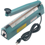 "Global Industrial™ 12"" Hand Impulse Sealer, 2mm Seal Width"
