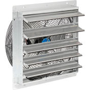 """18"""" Exhaust Fan with Shutter - Direct Drive - 1/8 HP - 3 Speed"""