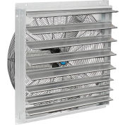 """30"""" Exhaust Fan with Shutter - Direct Drive - 1/4 HP - 2 Speed"""