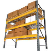 "Husky Rack & Wire Lynx/Double Slotted Pallet Rack Starter - No Deck - 120""W x 42""D x 192""H"