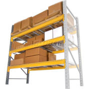 "Husky Rack & Wire Lynx/Double Slotted Pallet Rack Add-On - No Deck - 120""W x 42""D x 96""H"