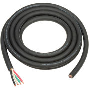 Cable SOOW 6/4 Wire For Salamander Heater 25' L With Terminals