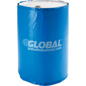 Global Industrial® Insulated Drum Heater For 55 Gallon Drum, 100°F Fixed Temp, 120V