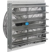 """Continental Dynamics® 24"""" Exhaust Fan with Shutter - Direct Drive - 1/4 HP - Single Speed"""