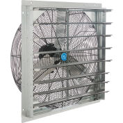 "CD 30"" Single Speed Direct Drive Exhaust Fan With Shutter, 1/4 HP"