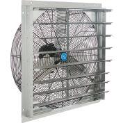 "CD 30"" Single Speed Direct Drive Exhaust Fan With Shutter, 1/4 HP"