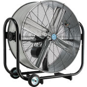 "CD® 36"" Tilt Drum Blower Fan - Portable - Belt Drive - 10500 CFM - 1/3 HP"